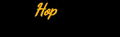 Logo hop custom campers groot