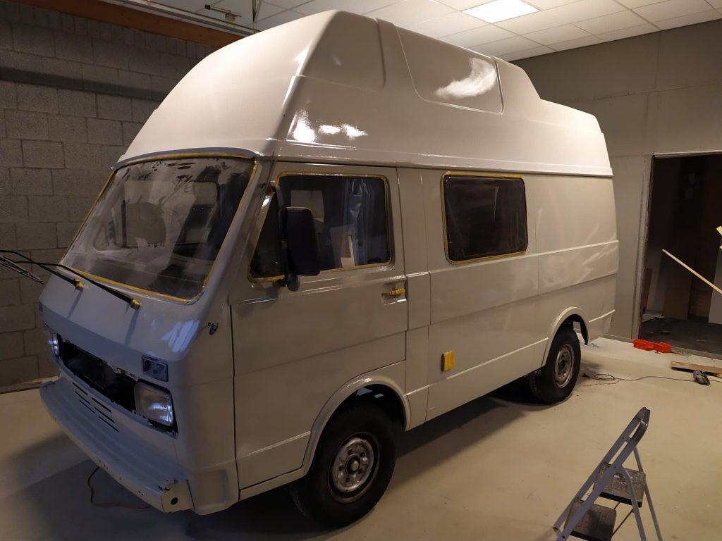 Volkswagen LT35 camper opgeknapt