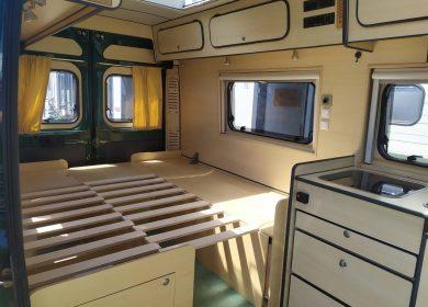 camper aanpassing bed